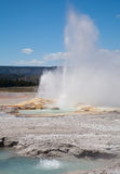 Clepsydra Geyser in Yellowstone Stock Photos