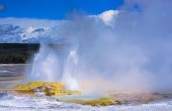 Clepsydra Geyser in Yellowstone Stock Photography