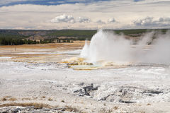 Clepsydra Geyser Stock Images