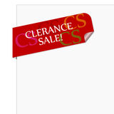 Clerance sale Stock Images