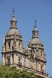 Clerecia Church in Salamanca, Spain Royalty Free Stock Photos