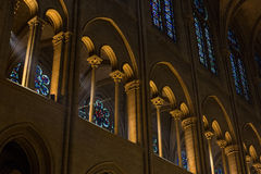 Clerestory of Notre Dame Stock Photos