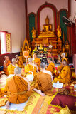 Clergy Conference in the newly Buddhist Stock Images