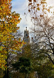 The Clerics Tower (Torre dos Clerigos) in autumn, Porto, Portuga Stock Photo
