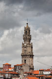 Clerigos Church Bell Tower in Porto Royalty Free Stock Image