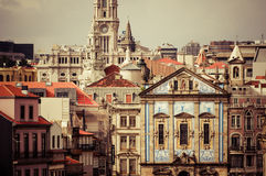 Clerigos church (Igreja dos Clerigos), Porto, Douro Province, Po Stock Photos