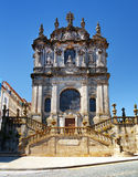 The Clerigos Church in Porto, Portugal. Stock Images