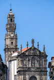 Clerigos Church in Porto, Portugal Royalty Free Stock Image