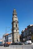 Clerigos Church in Porto, Portugal Royalty Free Stock Photos