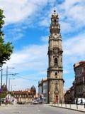 Clerigos Church, Porto, Portugal Royalty Free Stock Photo