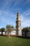 Clerigos Church Tower in Porto Stock Images