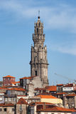 Clerigos Church Tower in Porto Royalty Free Stock Photography