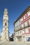 Clerigos Oporto Portogallo del DOS di Torre Immagini Stock