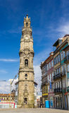 Clerigos tower in Porto Royalty Free Stock Photo