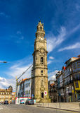 Clerigos tower in Porto Stock Photo