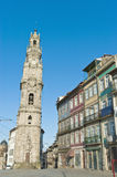Clerigos tower at Porto, Portugal Stock Image