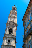 Clerigos tower in Porto, Portugal Royalty Free Stock Photography