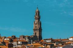 Clerigos tower, Porto, Portugal. Travel. Stock Photography