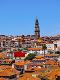 Clerigos Tower in Porto Stock Photos