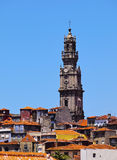Clerigos Tower in Porto Stock Images