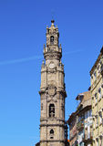 Clerigos Tower in Porto Royalty Free Stock Image
