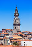 Clerigos Tower, Porto Royalty Free Stock Images