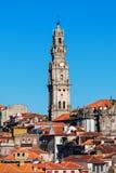 Clerigos Tower, Porto Royalty Free Stock Images