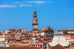 Clerigos-Turm, Porto Stockbilder