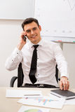 Clerk in the office. Stock Images