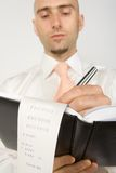 Clerk working Royalty Free Stock Photos