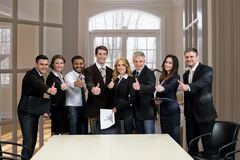 Clerks at the meeting. Stock Photo