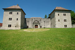 Clermont castel Stock Photos