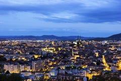 Clermont-Ferrand dans les Frances Photographie stock libre de droits