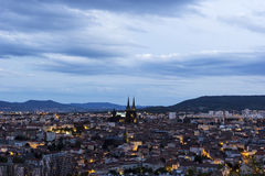 Clermont-Ferrand dans les Frances Photo stock