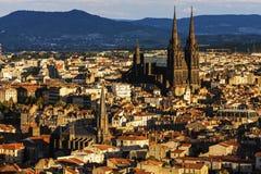 Clermont-Ferrand katedra Zdjęcia Stock