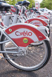 Clermont-Ferrand public bicycle  Royalty Free Stock Images