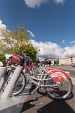 Clermont-Ferrand public bicycle  Stock Images