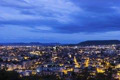 Clermont-Ferrand w Francja zdjęcie stock