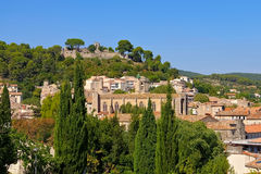 Clermont-l Herault, a town in southern France Royalty Free Stock Photo