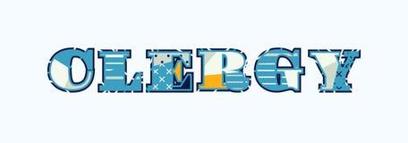 Clero Concept Word Art Illustration stock de ilustración