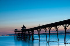 Clevedon Pier Royalty Free Stock Photo