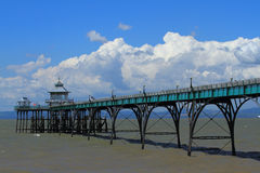 Clevedon Pier Stockfoto
