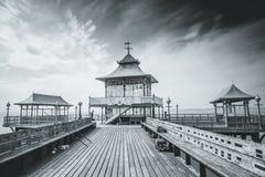 Clevedon Pier Stockfotos