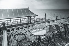 Clevedon Pier. A view of Clevedon Pier in Somerset, England Royalty Free Stock Photography