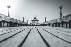 Clevedon Pier. A view of Clevedon Pier in Somerset, England Stock Photography