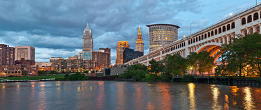Cleveland Foto de Stock Royalty Free