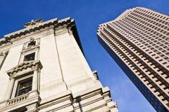 Cleveland - alt und neu Lizenzfreie Stockfotos