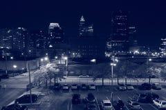 Cleveland Azja nocy Grodzki rynek Ohio Obrazy Royalty Free