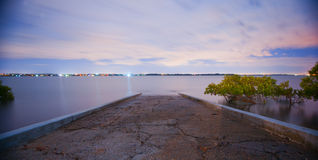 Cleveland boat ramp Royalty Free Stock Image