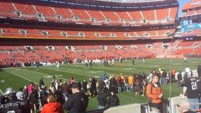 Cleveland Browns Game stockbilder